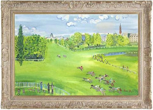 The Racecourse At Longchamps - 2007 - John Myatt - Antidote Art