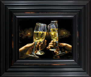 For a Better Life Con Champagne - Fabian Perez - Antidote Art