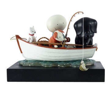 Catch of the Day Sculpture - 2015 - Doug Hyde - Antidote Art