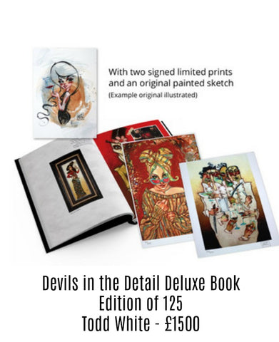 Devils in the detail deluxe  Book - Todd White