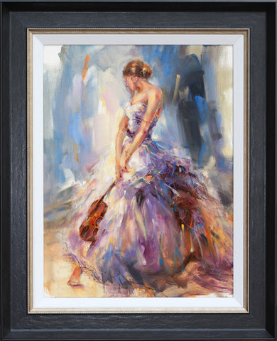 Flirting with a Violin - Anna Razumovskaya
