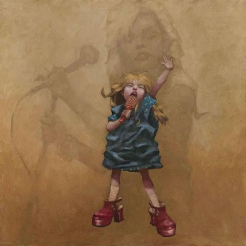 Hanging On The Te-LEPHONE! - 2012 - Craig Davison -Low Availability, please check before ordering - Antidote Art