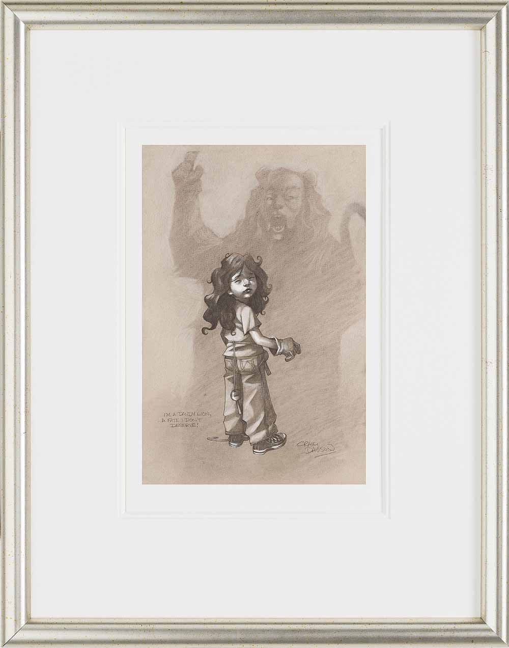 I'm A Dandy Lion, A Fate I Don't Deserve! - 2014 - Craig Davison - Antidote Art