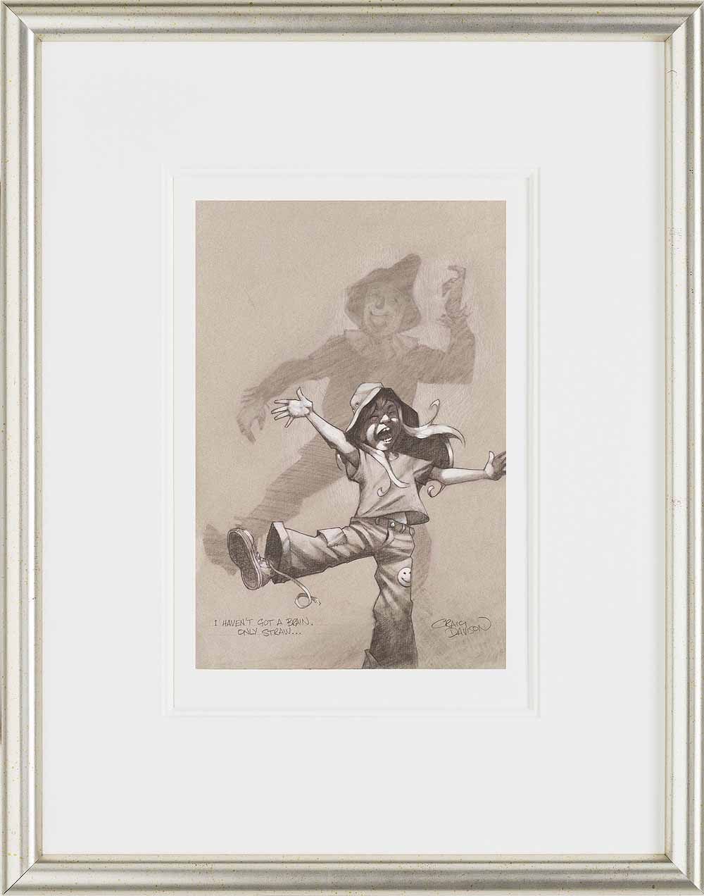 I Haven't Got A Brain, Only Straw - 2014 - Craig Davison - Antidote Art