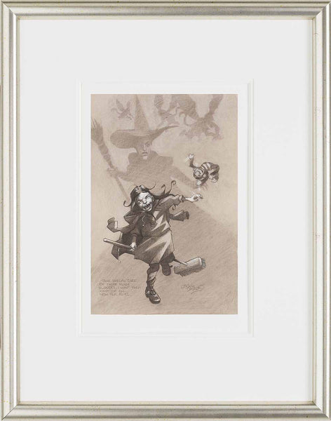Take Care Of Those Special Ruby Slippers, Now Fly! Fly! - 2014 - Craig Davison - Antidote Art