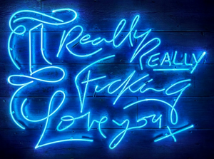 Really REALLY - Electric Blue - Courty