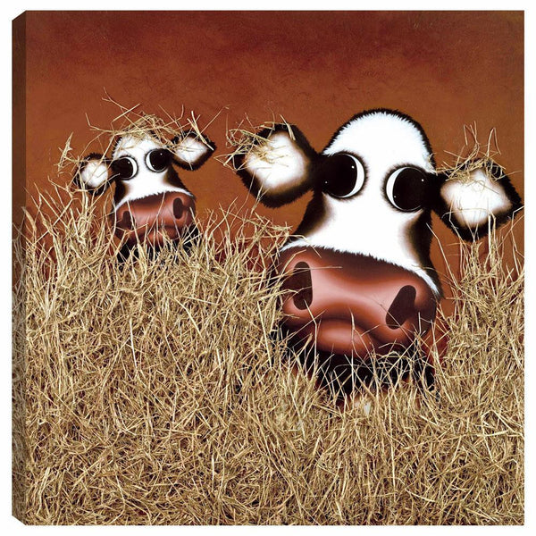 Hay, You're It - 2011 - Caroline Shotton -Low Availability, please check before ordering - Antidote Art