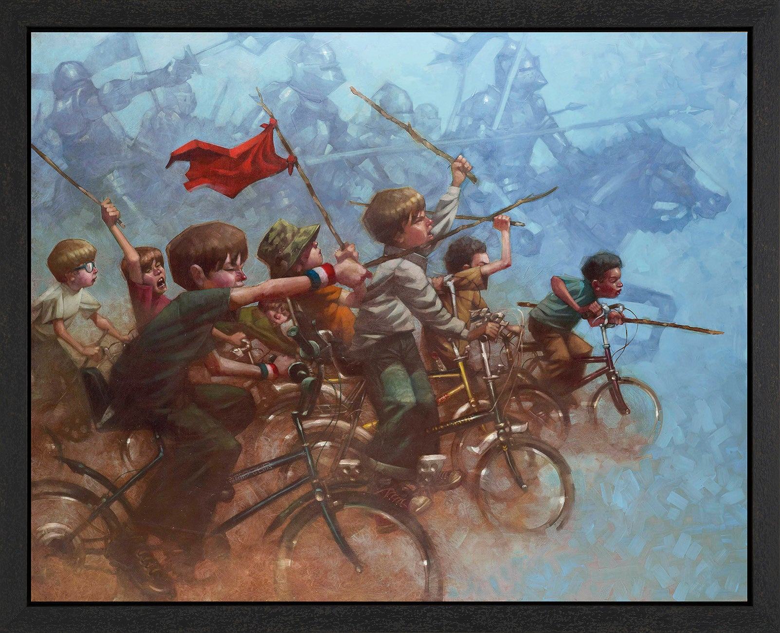 Swords Of A Thousand Men - 2015 - Craig Davison - Antidote Art