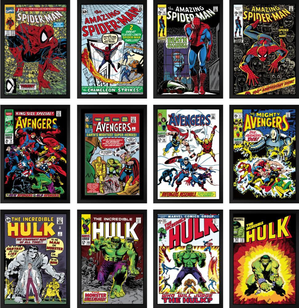 Superheroes - Set of 12 Editions – Stan Lee - Marvel - Antidote Art