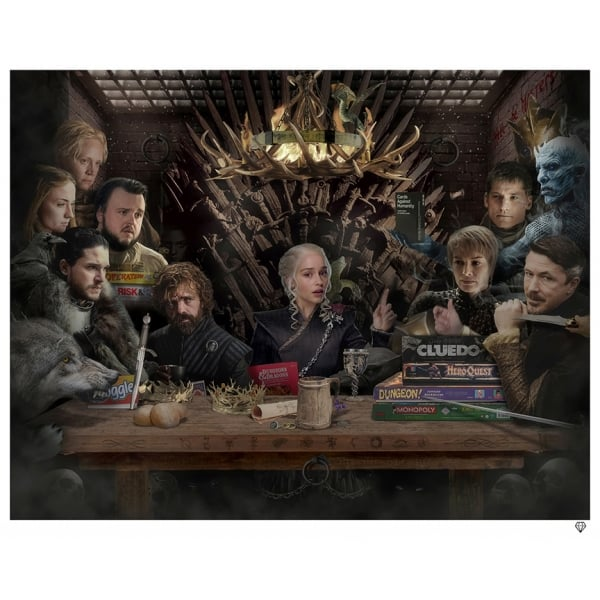 Game of Thrones Board Colour - JJ Adams