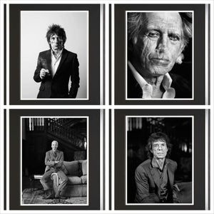 Portfolio of Four - Medium - Mick, Keith, Charlie, Ronnie - 2014 - Michael Donald - Antidote Art