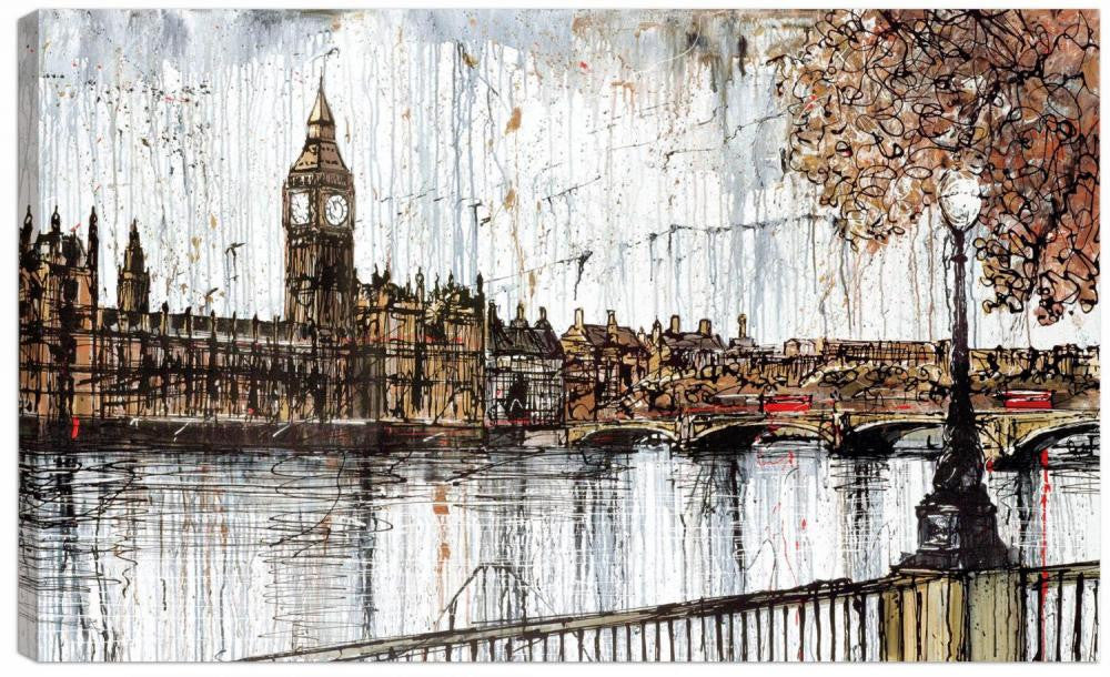 On The Thames - 2012 - Paul Kenton - Antidote Art