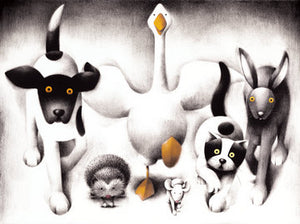 Lunch Time - 2013 - Doug Hyde - Sold out - Antidote Art