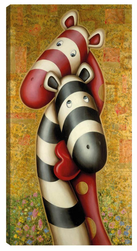 The Lovers - Boxed Canvas- 2012 - Peter Smith - Antidote Art