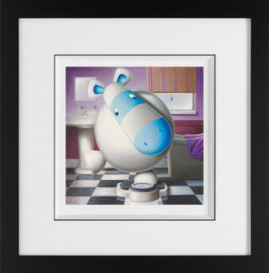 One At A Time Please - Giclee on Paper - 2012 - Peter Smith - Antidote Art