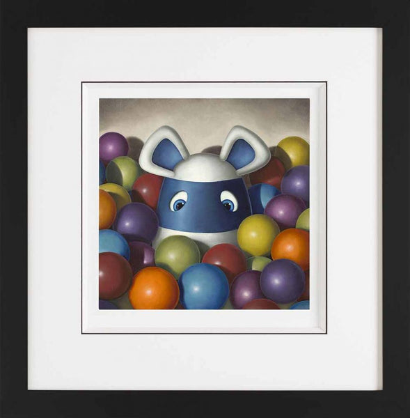 What A Load Of Balls - Giclee On Paper - 2014 - Peter Smith - Antidote Art