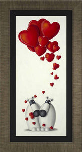 It's Love - Canvas On Board - 2014 - Peter Smith - Antidote Art