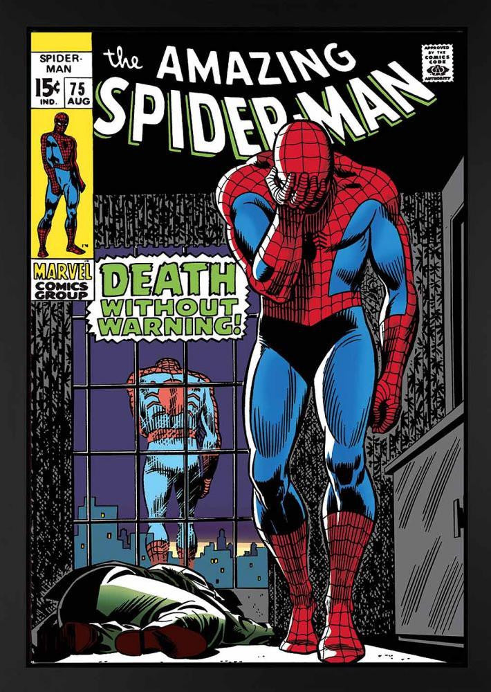 The Amazing Spider-Man #75 - Death Without Warning! - Stan Lee - Marvel - 2013 - Antidote Art