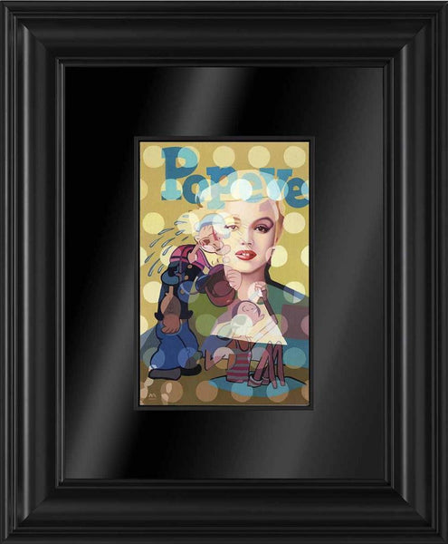 The Origins Of Woman Kind - Framed Boxed Canvas - 2014 - Stuart McAlpine Miller - Antidote Art