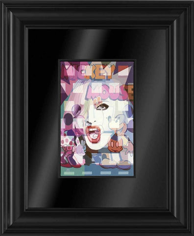 Striking The Pose - Framed Boxed Canvas - 2014 - Stuart McAlpine Miller - Antidote Art