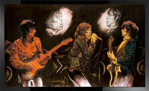 Stones Raw Panels II - Ronnie Wood - 2012 - Sold Out - Antidote Art
