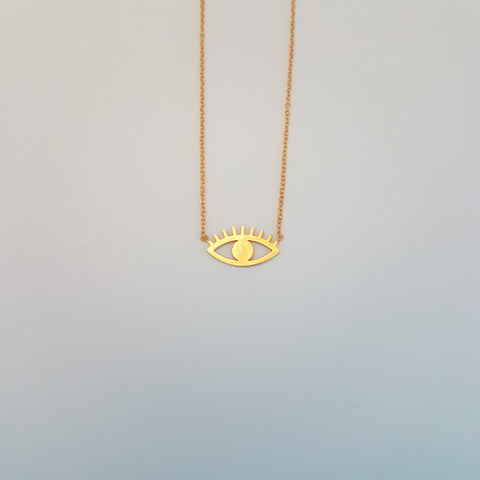 EYE SYMBOL NECKLACE