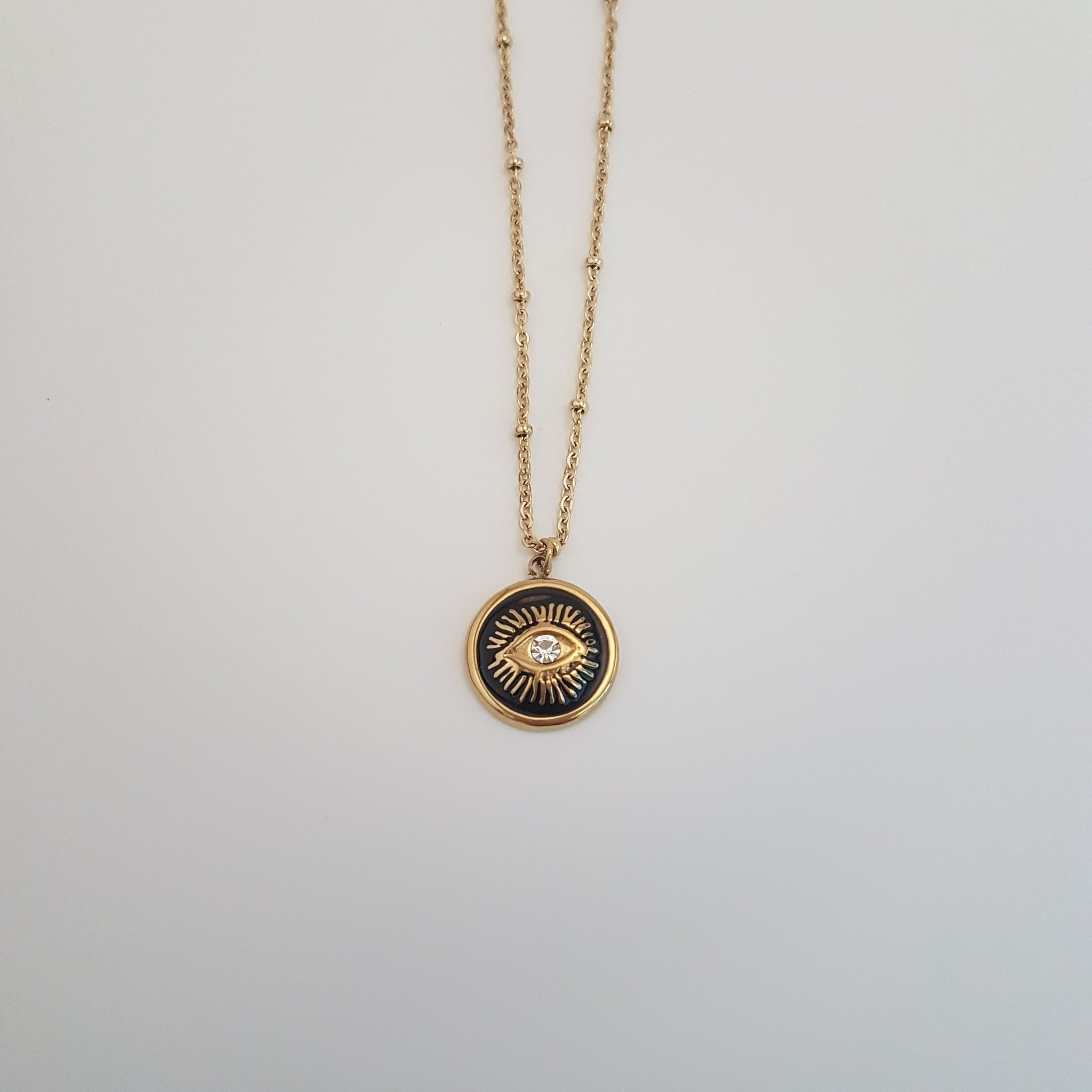 QUEOPS EYE SYMBOL NECKLACE