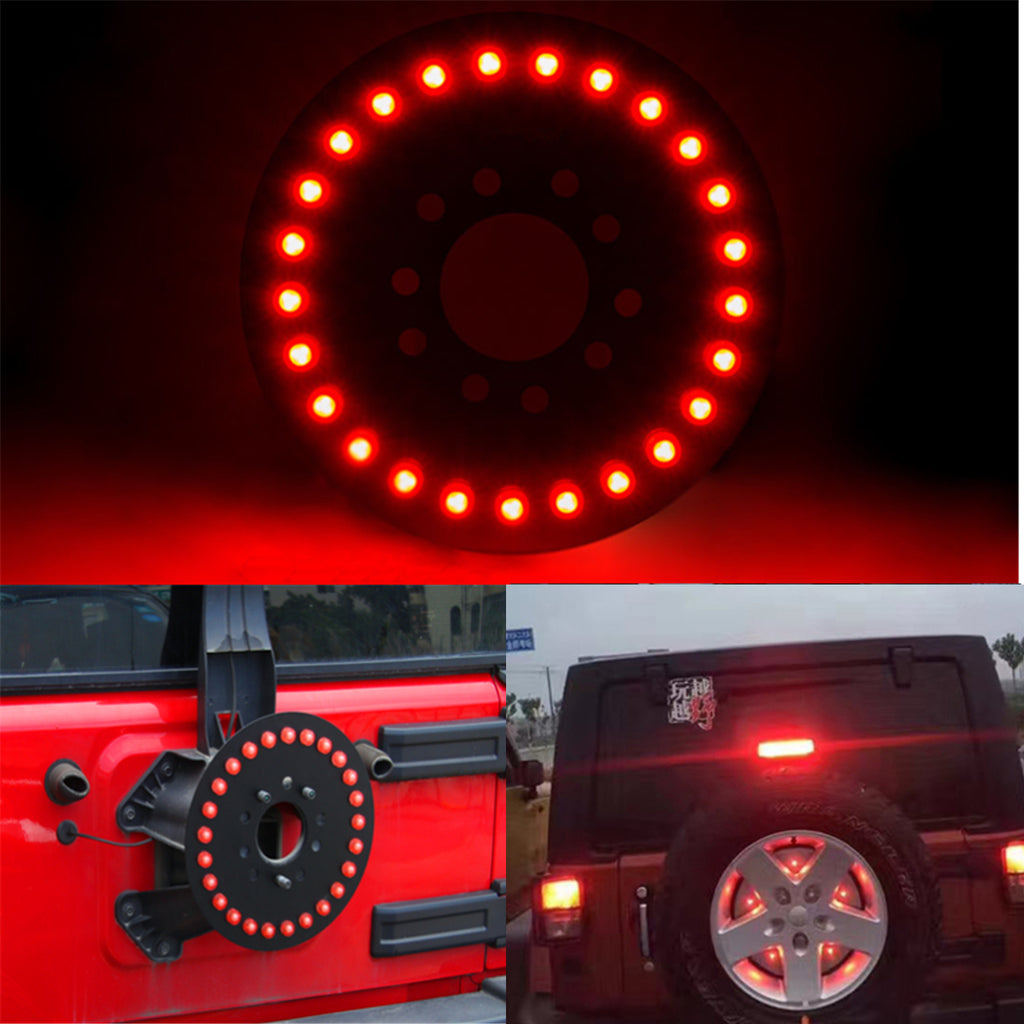 All Star Jeep U2122 Spare Tire Brake Light Led Extension For