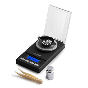 Insten Digital Jewelry Scale, Mini Pocket Size, 0.005g – 50g