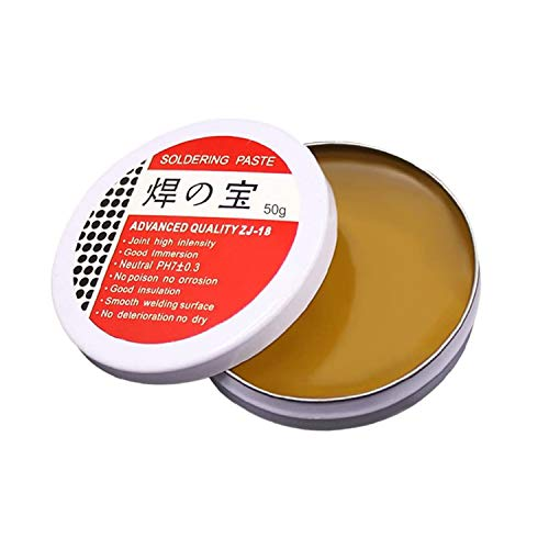 50g Tip Tinner, Solder Flux Tin Paste, Solder Wick, No Clean Formulation (Lead Free)