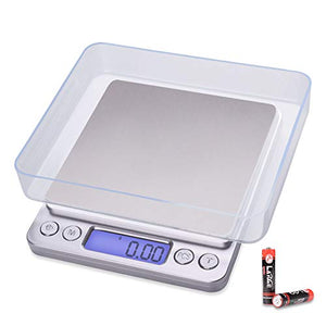 Fuzion Digital Kitchen Scale, 500g/ 0.01g