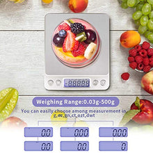 Load image into Gallery viewer, Fuzion Digital Kitchen Scale, 500g/ 0.01g