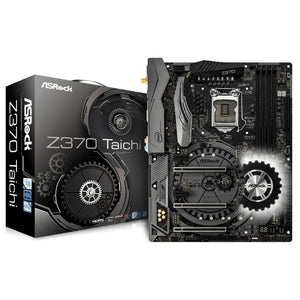 ASRock Z370 Taichi - ATX Motherboard for Intel Socket 1151 CPUs