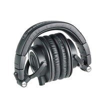 Load image into Gallery viewer, Audio-Technica ATH-M50X Studio Monitor Professional Headphones - Black