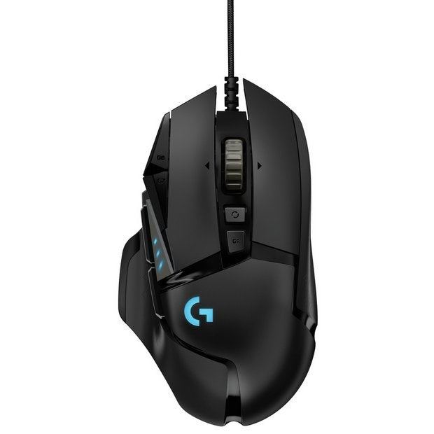 Logitech G502 Hero Wired Weight Reduction Custom Modification