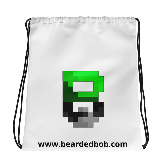 Beardedbob Branded Drawstring bag