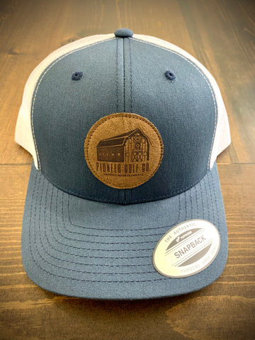 Navy Barn Trucker Hat