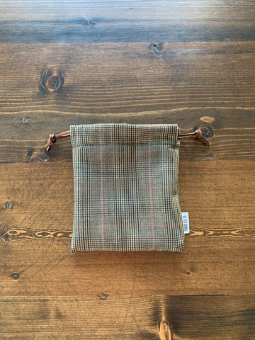 Alfie Plaid Valuable Pouch