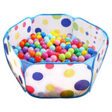 Ball Pit Large Pop Up Toddler Ball Pits Tent for pets or babies Playpen w/ Zipper Storage Bag, Balls Not Included (Blue)