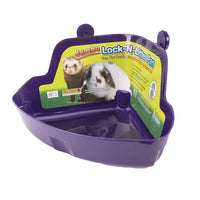 Ware Manufacturing Plastic Lock-N-Litter Bigger Pan for Small Pets, Jumbo - Colors May Vary - litter pan
