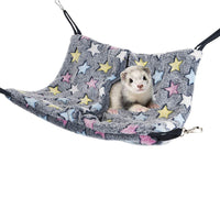 Niteangel Cage Hanging Nap Sack Swing Napping Hammock for Ferret Rat Chinchilla Sugar Glider