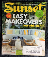 SUNSET MAGAZINE APRIL 2015 HOME MAKEOVER SMART GADGETS NATIONAL PARK GETAWAYS
