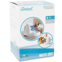 PetSafe Drinkwell Platinum Pet Fountain - Dog & Cat Automatic Water Drinker 5L