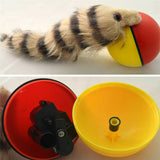 Pet Dog Cat Electric Beaver Weasel Rolling Ball Toy Funny Rolling Ball Moving