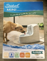 Drinkwell Mini Pet Water Dispenser Fountain for Dogs Cats ferrets