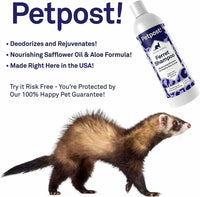Ferret Shampoo Naturally Effective Deodorant Shampoo for Ferrets & Small Animals