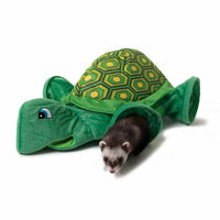 Marshall Ferret Cage Bed Tunnel Toy Turtle