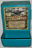 "Green 5 1/2 X 8"" Bin Feeder for Rabbits Guinea Ferrets Small Animal Pets"