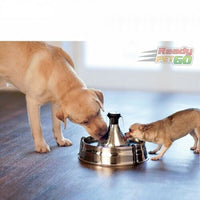 PetSafe Drinkwell Stainless Steel 360 Pet Water Drinking Fountain - Cats & Dogs