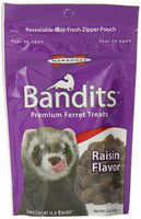 MARSHALL - Bandits Premium Meaty Raisin Flavor Ferret Treats - 3 oz. (85 g)